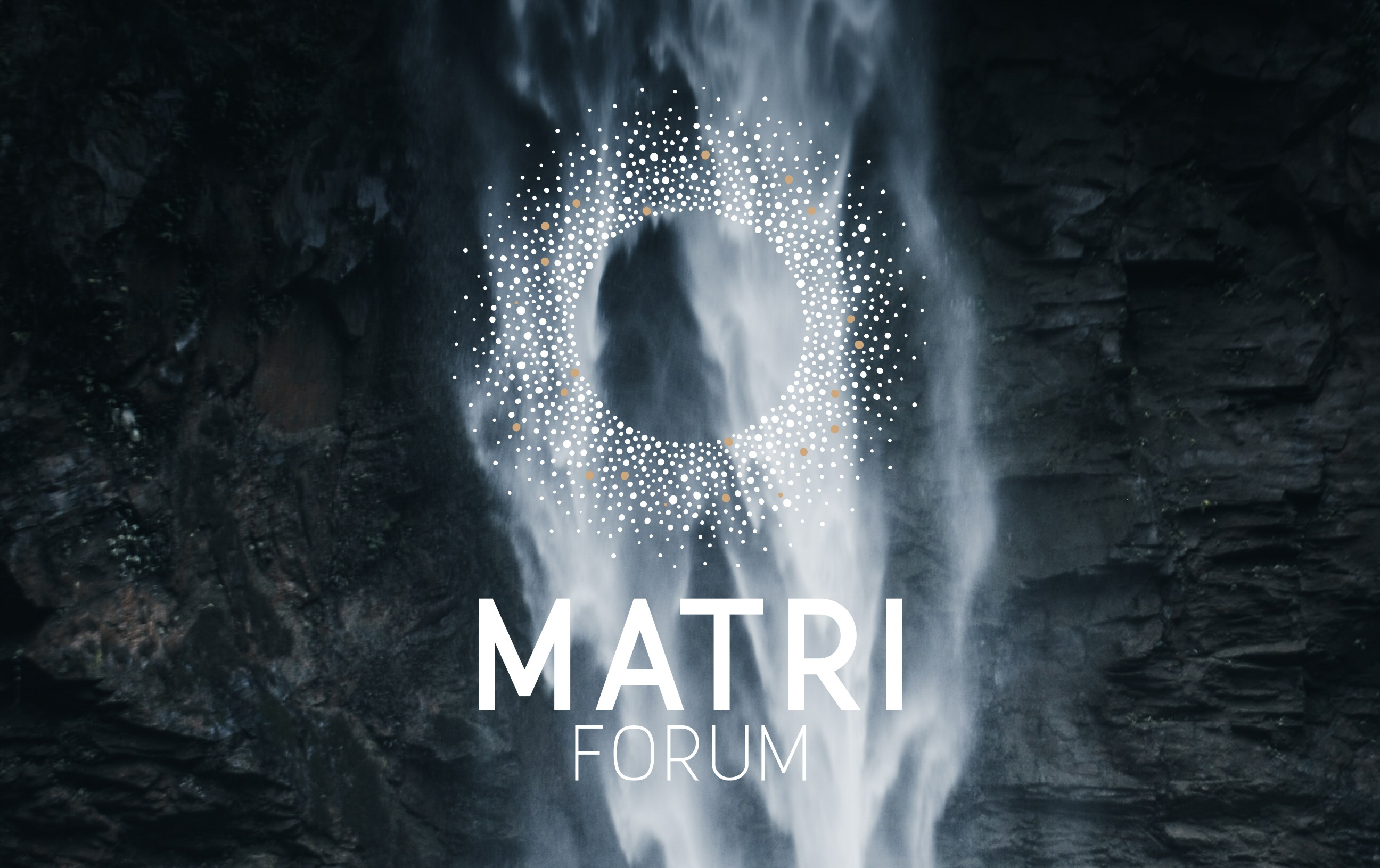 Matriforum waterfall